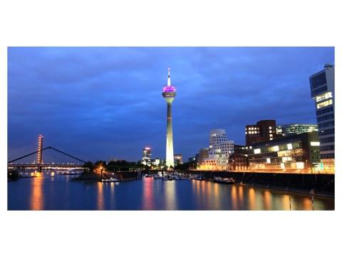 Duesseldorf Skyline Poster