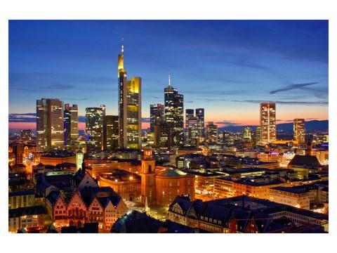 Poster Frankfurt Skyline